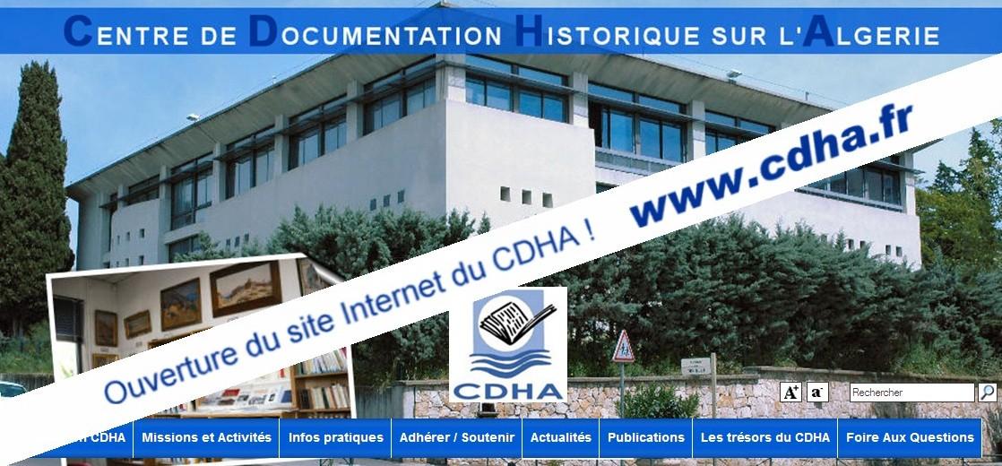 cdha centre de documentation historique d�alg233rie